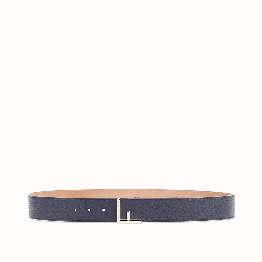 Belt - Blue leather belt