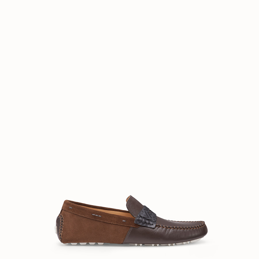 Loafers - Brown leather drivers
