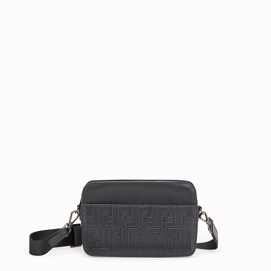 Messanger - Black leather bag