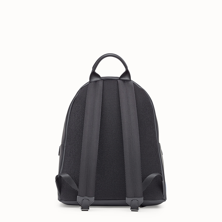 Backpack - Black leather backpack