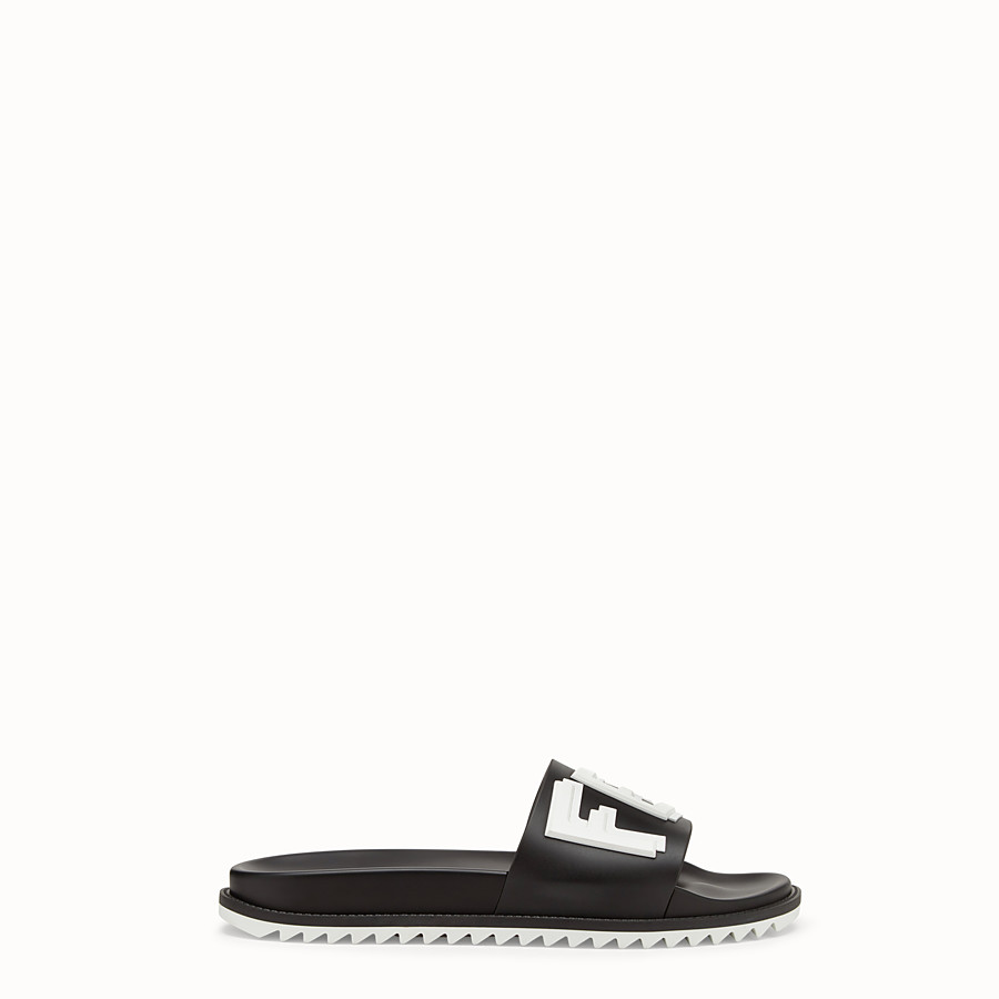 Slides - Black TPU fussbetts