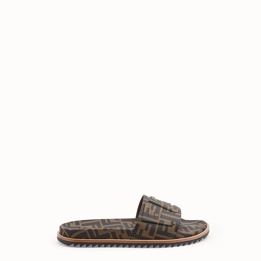 Slides - Brown TPU fussbetts