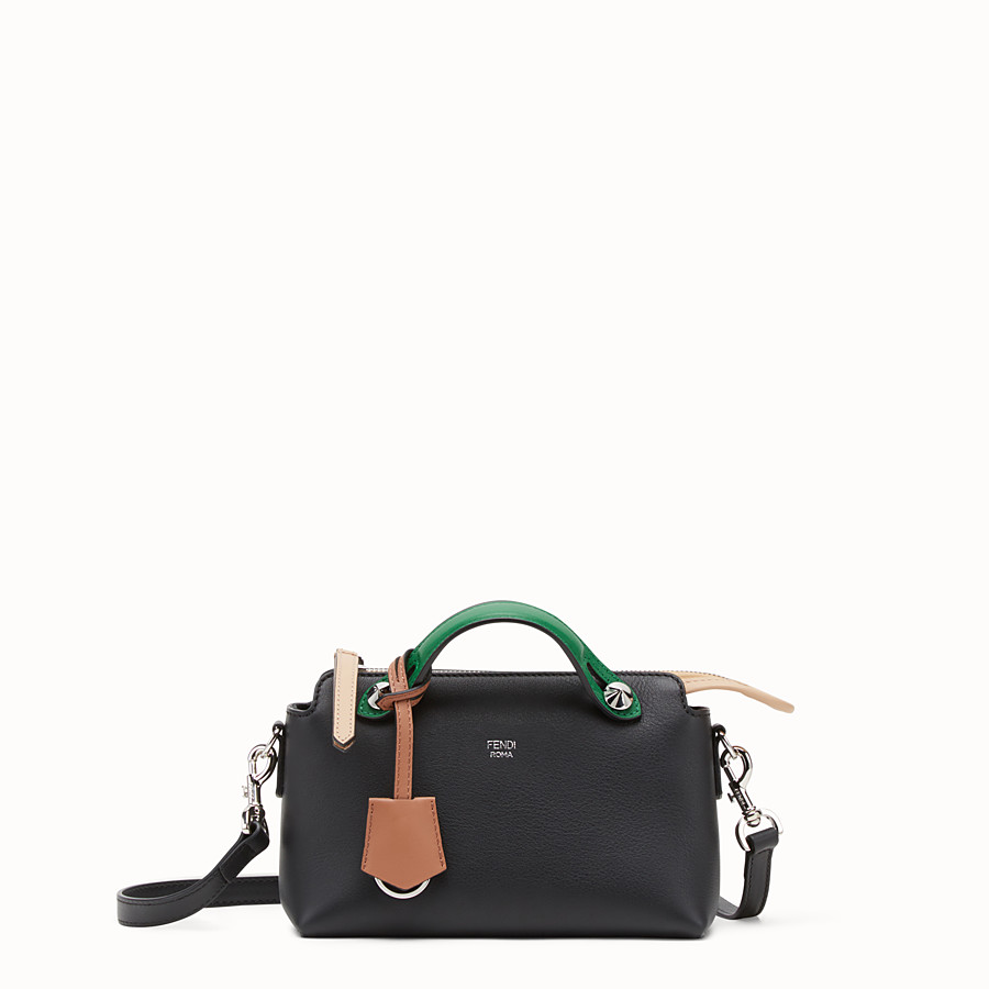 By The Way Mini - Black leather Boston bag