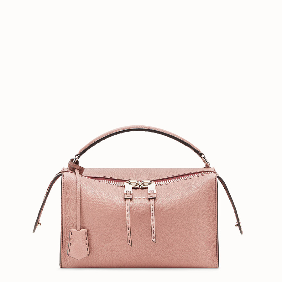 Lei Bag Selleria - Pink leather Boston bag