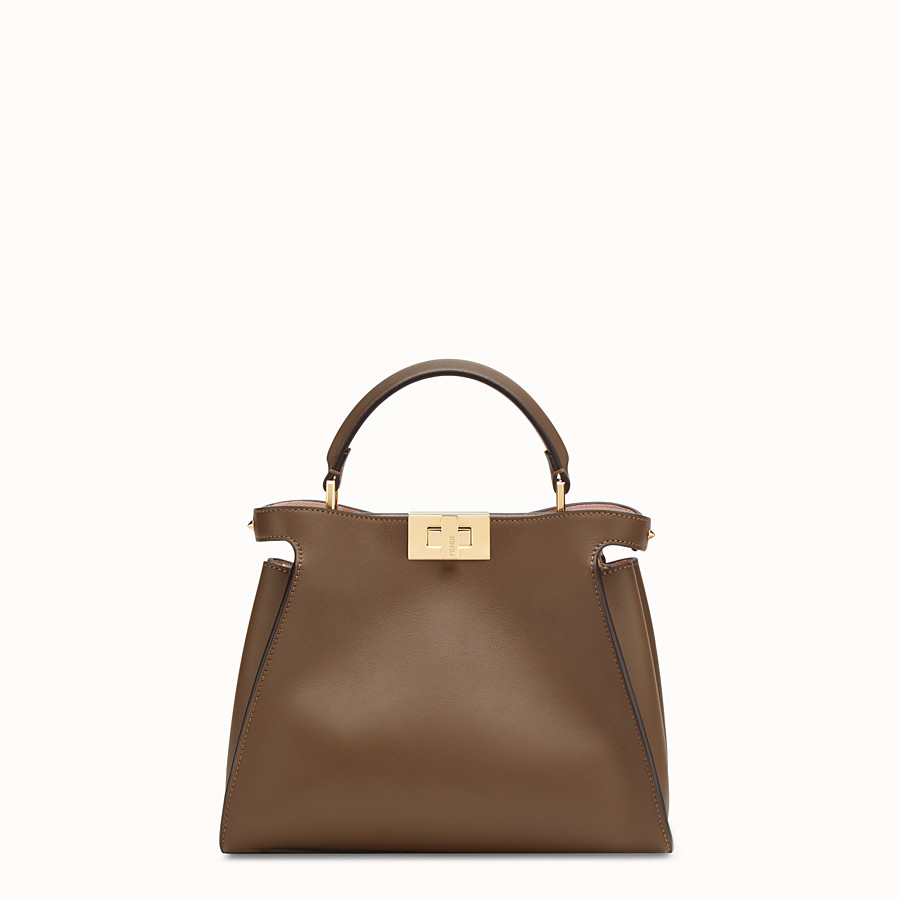 Peekaboo Essentially - Brown leather bag