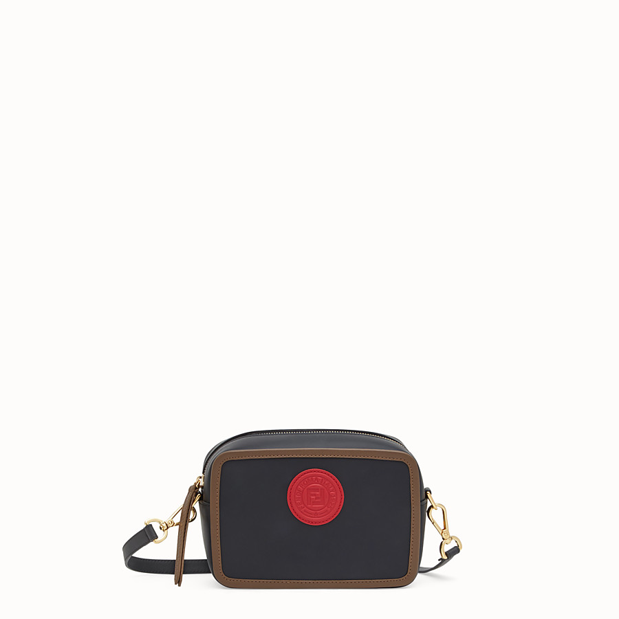 Mini Camera Case - Multicolour leather bag