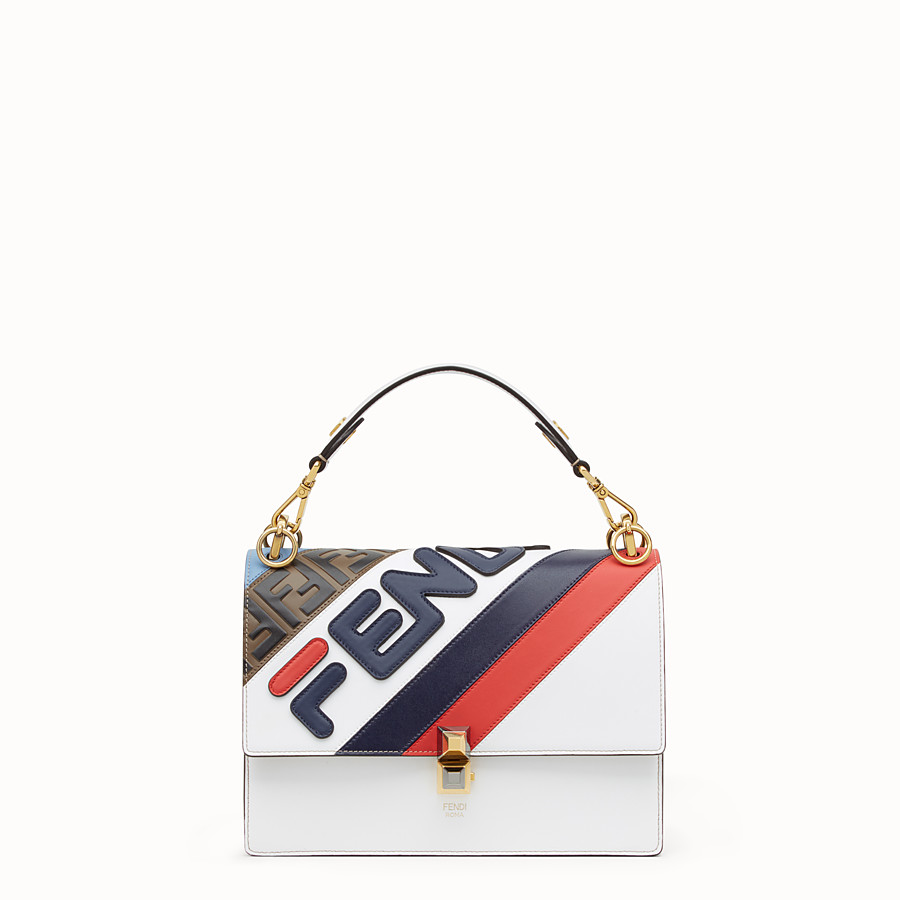 Kan I - Multicolour leather bag