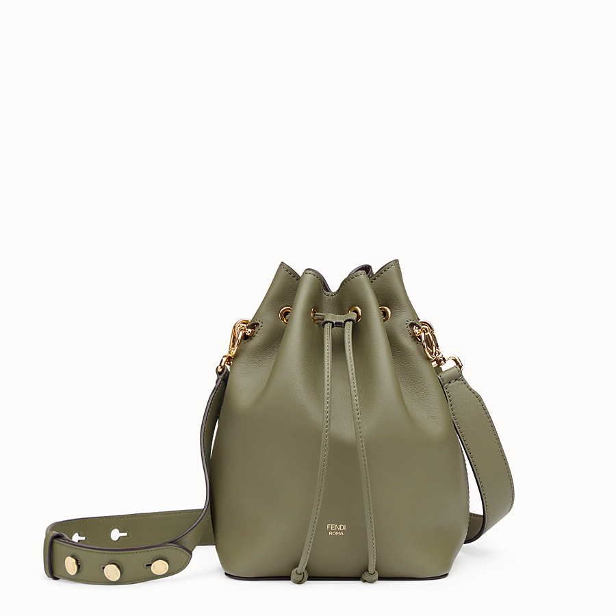 Mon Tresor - Green leather bag