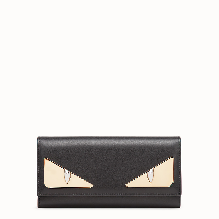 Continental - Black leather wallet