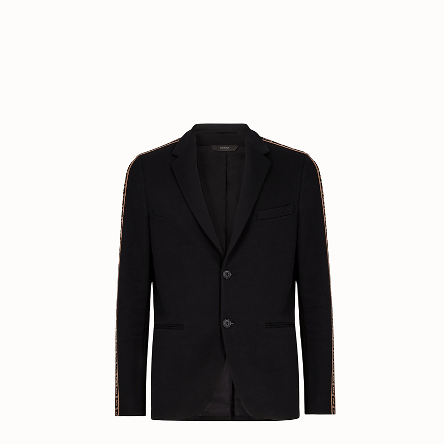 Jacket - Black cotton blazer