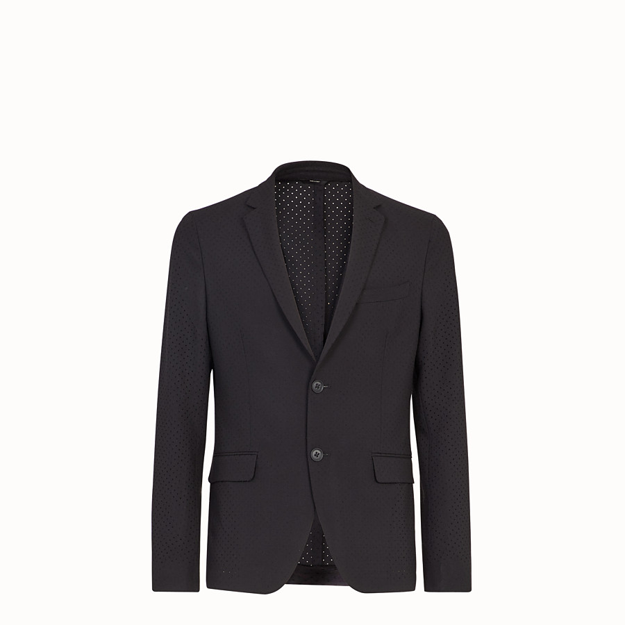 Jacket - Black wool blazer