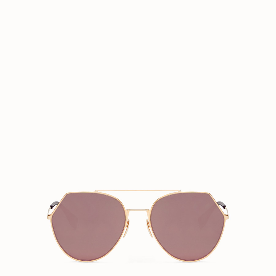 Eyeline - Gold-coloured sunglasses