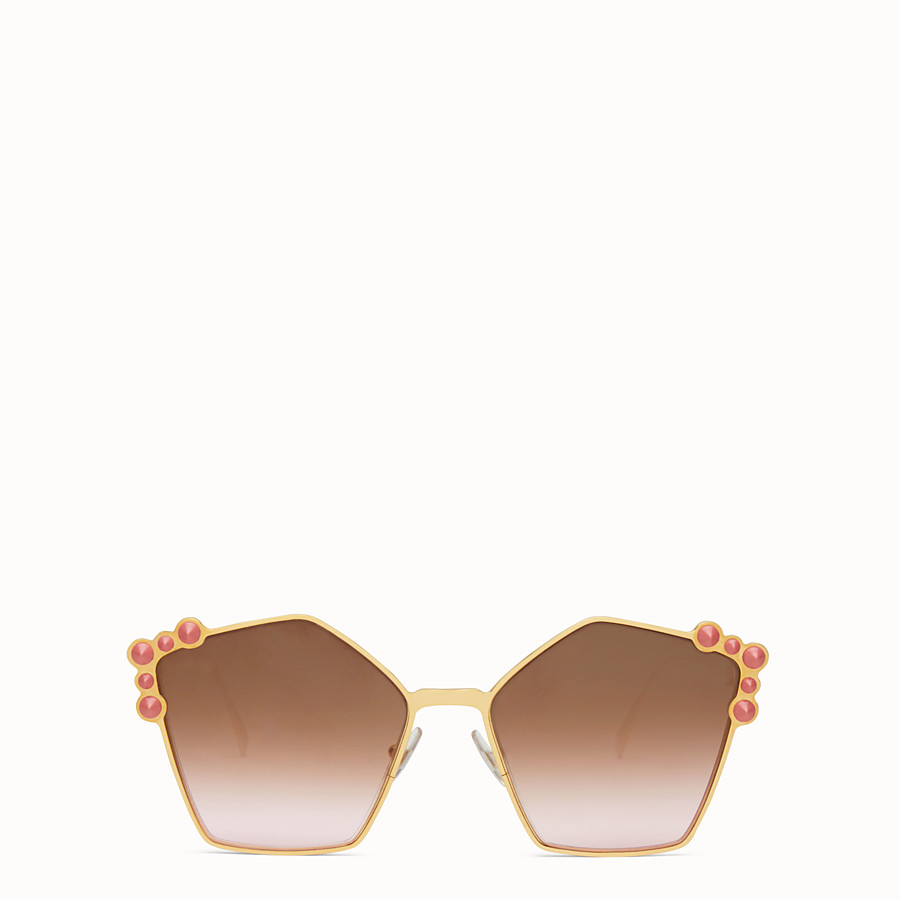 Can Eye - Rose gold sunglasses