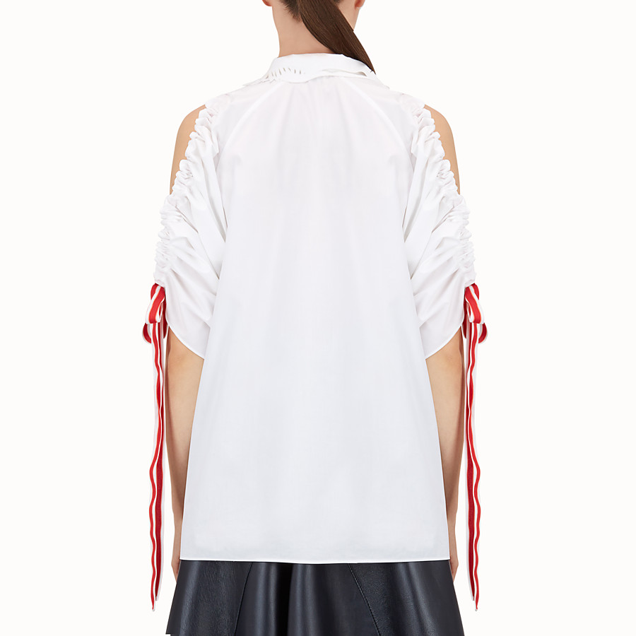 Shirt - White cotton shirt