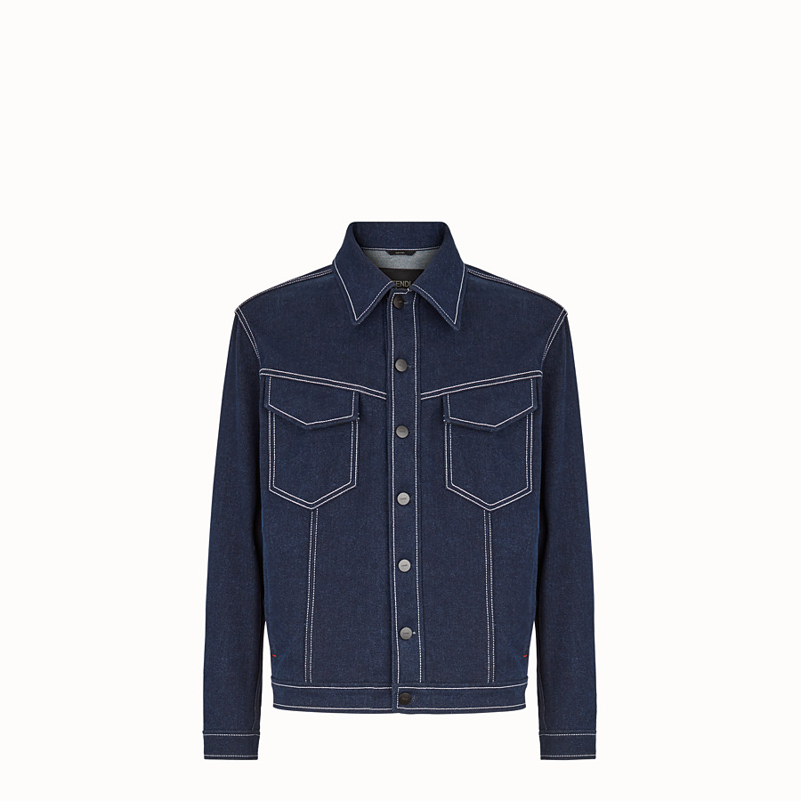 Blouson Jacket - Blue denim jacket
